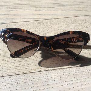 "Nicole Miller ""Vesey"" Cat eye Sunglasses"